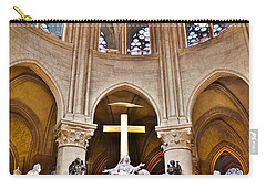 High Alter Notre Dame Cathedral Paris France Carry-all Pouch