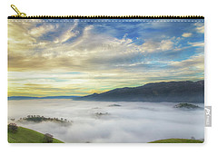 High Clouds Above Fog Carry-all Pouch