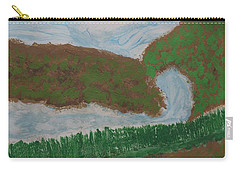 Carry-all Pouch featuring the painting High Country  by Don Koester