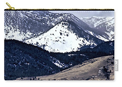 High Country Snow Storm Carry-all Pouch by Nancy Marie Ricketts