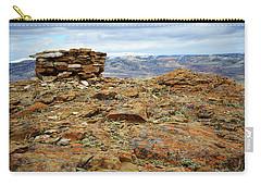 High Desert Cairn Carry-all Pouch