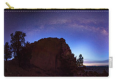 Carry-all Pouch featuring the photograph High Desert Dawn by Leland D Howard