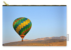 Carry-all Pouch featuring the photograph High Desert Morning by AJ Schibig