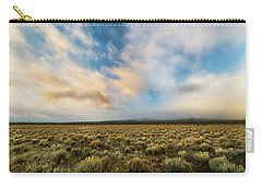High Desert Morning Carry-all Pouch by Ryan Manuel