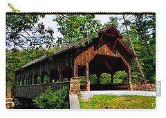 High Falls Covered Bridge Carry-all Pouch