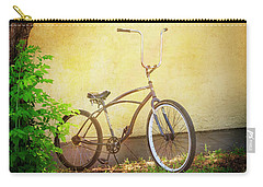 Carry-all Pouch featuring the photograph High Handle-bar Bicycle by Craig J Satterlee