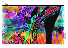 High Heel Heaven Abstract Carry-all Pouch