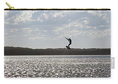 Carry-all Pouch featuring the photograph High Jump  by Miroslava Jurcik