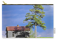 Carry-all Pouch featuring the photograph High On That Mountain by Nick Kirby