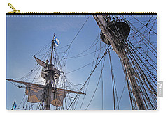 High On The Foremast Carry-all Pouch by Allan Levin