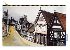 High Street Of Stamford In England Carry-all Pouch