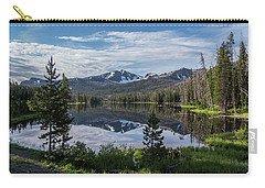 High Summer At Sylvan Lake Carry-all Pouch