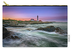 High Tide At Portland Head Lighthouse Carry-all Pouch