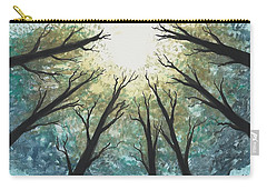 High Trees Carry-all Pouch by Edwin Alverio