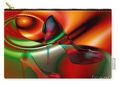 Highheels Red And Green Carry-all Pouch