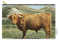 Highland Bull In The Noordhollandse Duinreservaat Carry-all Pouch