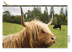 Carry-all Pouch featuring the photograph Highland Coo by Christi Kraft