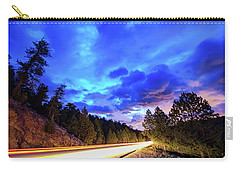 Carry-all Pouch featuring the photograph Highway 7 To Heaven by James BO Insogna