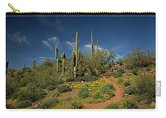 Hiking In Springtime Carry-all Pouch