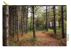 Hiking In Whitetail Woods Carry-all Pouch