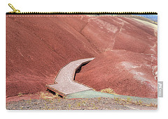 Hiking Loop Boardwalk At Painted Hills Cove Carry-all Pouch