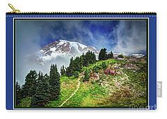 Hiking Rainier Carry-all Pouch