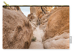 Hiking Trail In Joshua Tree National Park Carry-all Pouch by Joe Belanger