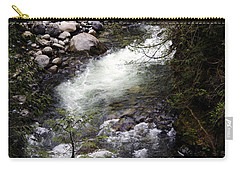 Hiking Wallace Falls#1 Carry-all Pouch