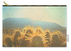 Carry-all Pouch featuring the photograph Hill Top Sunset  by Mark Ross