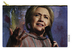 Hillary Clinton 01 Carry-all Pouch by Gull G
