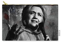 Hillary Clinton  Carry-all Pouch by Gull G