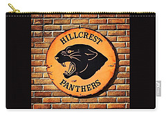 Hillcrest Elementary Panthers Sign Carry-all Pouch