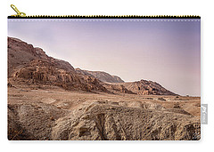 Hills By The Dead Sea Carry-all Pouch