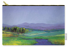 Hills In Bloom Carry-all Pouch by David Patterson