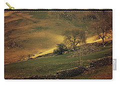 Hills Of Scotland At The Sunset Carry-all Pouch by Jaroslaw Blaminsky
