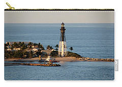 Hillsboro Lighthouse In Florida Carry-all Pouch