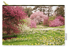 Carry-all Pouch featuring the photograph Hillside Bloom by Jessica Jenney