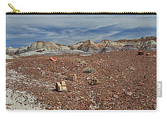 Carry-all Pouch featuring the photograph Hillside Hues by Gary Kaylor