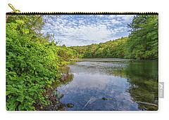 Hillside Pond Milton Massachusetts Carry-all Pouch