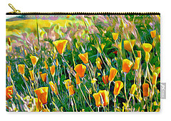 Hillside Poppies - Impressions Three Carry-all Pouch