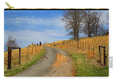 Hilltop Driveway Carry-all Pouch by Kathryn Meyer