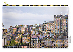 Hilly Skyline Of Edinburgh Carry-all Pouch