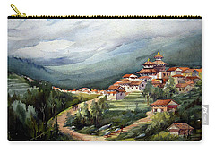 Himalayan Village  Carry-all Pouch