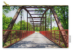 Hinkson Creek Bridge Carry-all Pouch by Cricket Hackmann