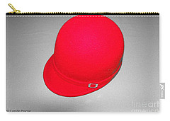 Hints Of Red - Hat Carry-all Pouch