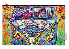 Hippie Carry-all Pouch by Viktor Lazarev