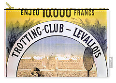 Hippodrome Du Trotting Club Levallois Carry-all Pouch
