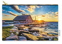 Historic Anderson Dock In Ephraim Door County Carry-all Pouch