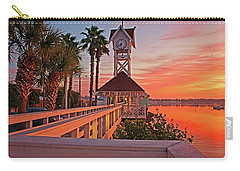 Historic Bridge Street Pier Sunrise Carry-all Pouch