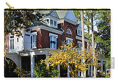 Carry-all Pouch featuring the photograph Historic Brunswick Residence by Laura Ragland